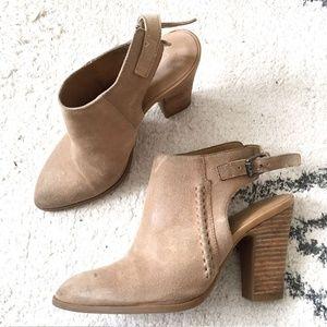 Franco Sarto Suede desert booties
